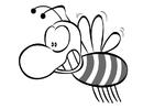 Målarbild bi