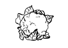 Målarbild blomkÃ¥l