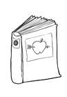 Målarbild bok - läsa
