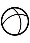 Målarbild boll