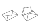 Målarbild brev