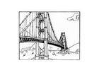 Målarbild bro