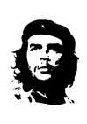 Målarbild Che Guevara