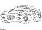 Målarbild Chrysler 300