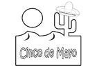 Målarbild Cinco de Mayo - femte maj