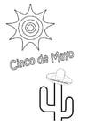 Målarbild Cinco de Mayo