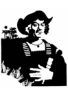 Målarbild Columbus