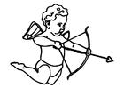 Målarbild Cupido