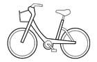 Målarbild cykel