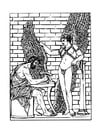 Målarbild Daedalus och Ikaros