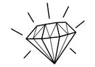 Målarbild diamant