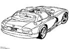 Målarbild Dodge Viper