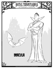 Målarbild Dracula