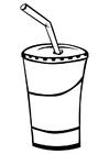 Målarbild dryck