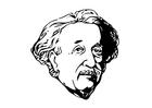 Målarbild Einstein