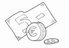 Målarbild euro