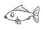 Målarbild fisk