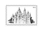 Målarbild frimärke 3