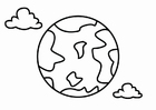 Målarbild geografi