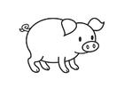 Målarbild griskulting