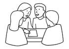 Målarbild grupparbete