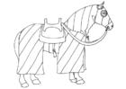 Målarbild häst