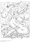 Målarbild Hajar