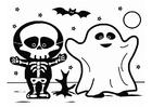 Målarbild Halloween