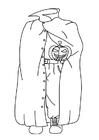 Målarbild halloween-spöke