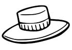 Målarbild hatt