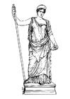 Målarbild Hera