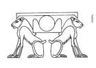Målarbild Horisontens lejon
