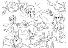 Målarbild hyperaktiv - ADHD