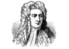 Målarbild Isaac Newton