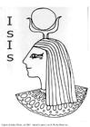 Målarbild Isis