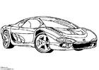 Målarbild Isuzu visningsbil