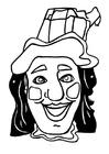 Målarbild Jan Klaassen-mask