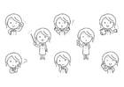 Målarbild känslor - lärare