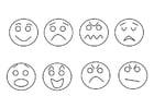 Målarbild känslor