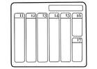 Målarbild kalender