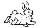Målarbild kanin