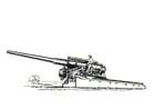 Målarbild kanon