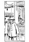 Målarbild Kines