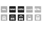 Målarbild kollektivtrafik