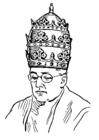Målarbild krona - tiara
