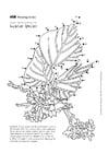 Målarbild kudzuböna