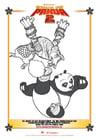 Målarbild Kung Fu Panda 2