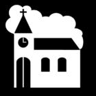 Målarbild kyrka