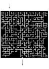 Målarbild labyrint