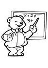 Målarbild lärare